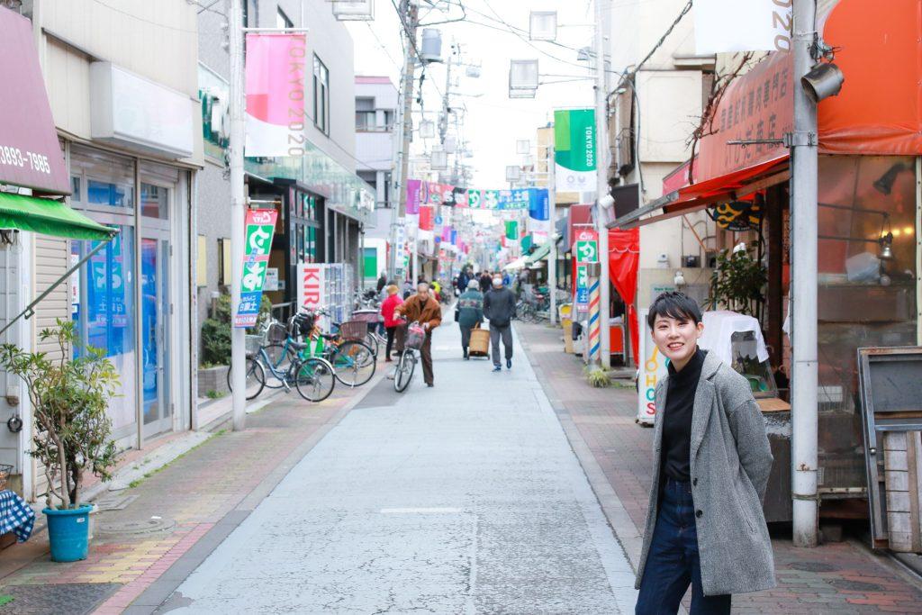 商店街とコジマ