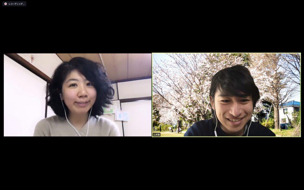 山本陸による浅川芳恵さんへのzoomインタビュー