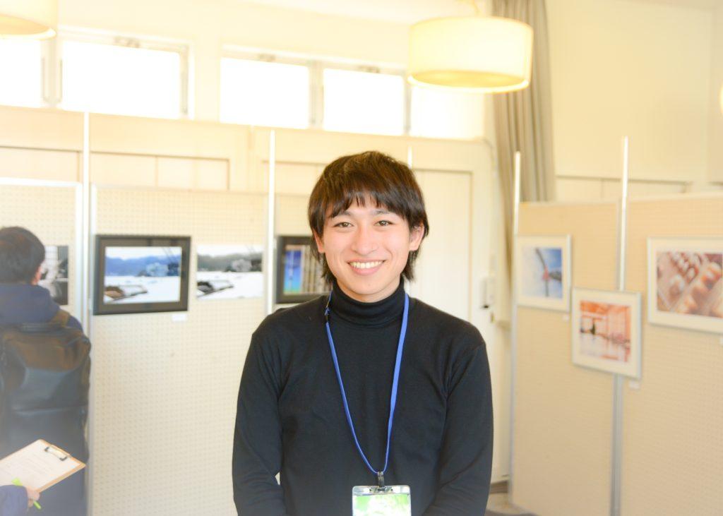 昨年カメラマンをつとめた「大正大学」4年生の山本陸さん