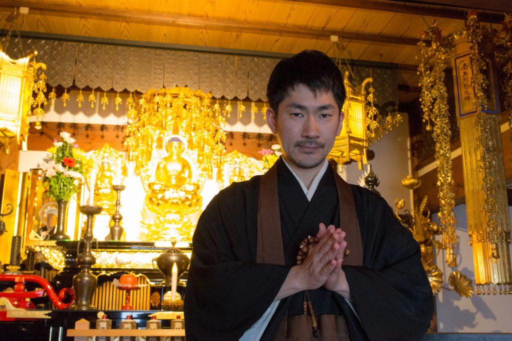 「みんなの全學寺プロジェクト」主宰の大島俊映