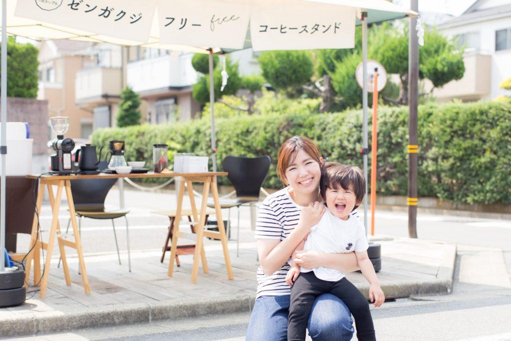 「ゼンガクジ フリー コーヒースタンド」の大島睦美さん