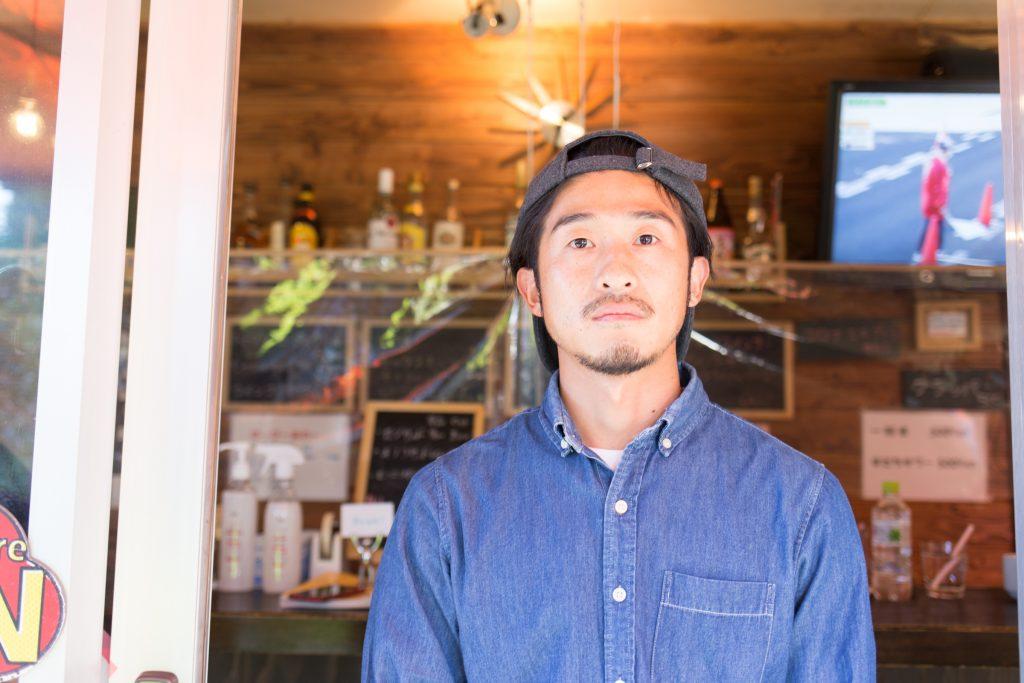 narrow cafeの長村孝則さん