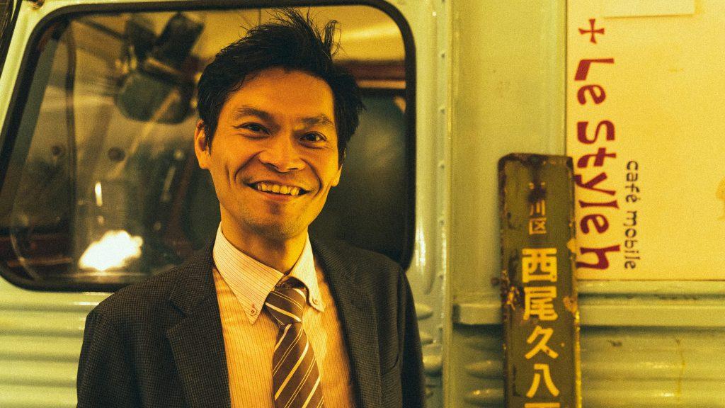 「ごきげん一家」代表の目谷哲朗さん