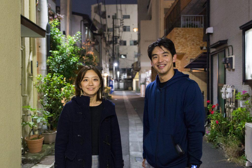 「ちきゅうの学校」生徒会長の小笠原愛さん(左)と「studio景」オーナートレーナーの茂木慧太さん(右)