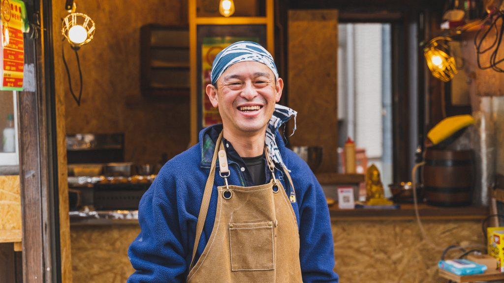 「TAKOYAKI247」代表の仁科吉裕さん