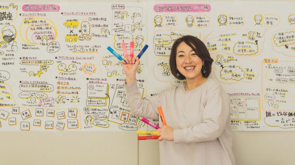 「足立区NPO活動支援センター」コーディネーターの野際里枝さん