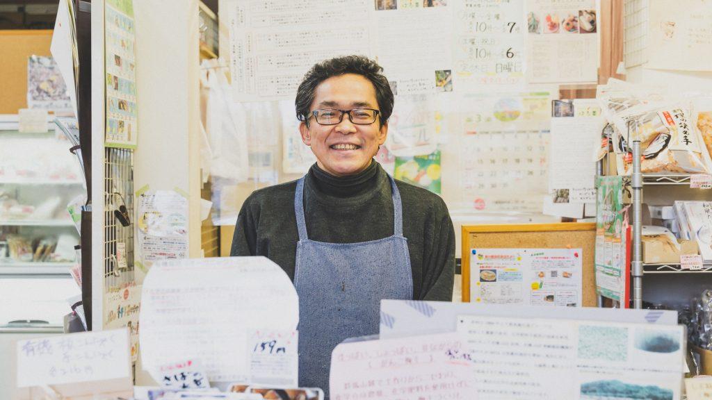 「はる菜」店主の増田浩一さん