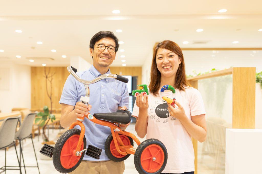 左が「マスセット株式会社」の神崎淳さん、右が対談ホストで「にぎり娘」の川野礼さん
