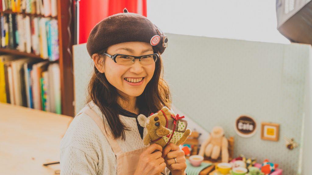 「やわらかん's cafe」オーナーのスズキミさん(撮影:山本陸)