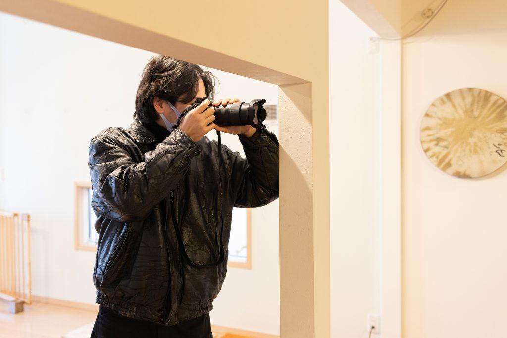 山本陸さんによる撮影の様子