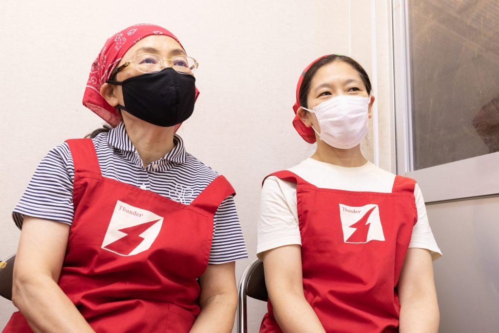 補足の説明をしてくれる松原さんは、鈴木さんとの息もぴったり