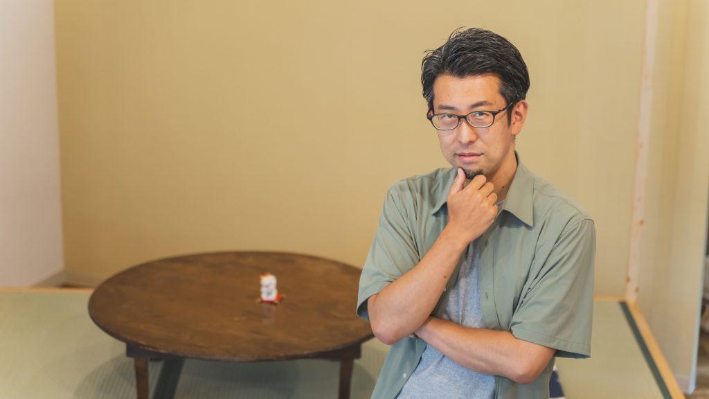 「あやせのえんがわ」代表の森川公介さん