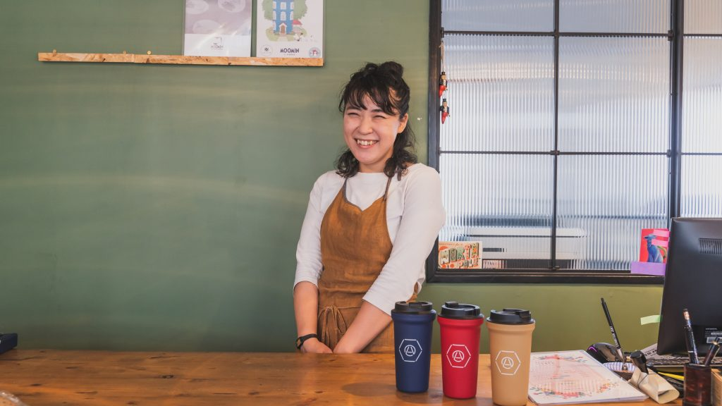「ARAKAWA ii VILLAGE」女将の川合理江さん