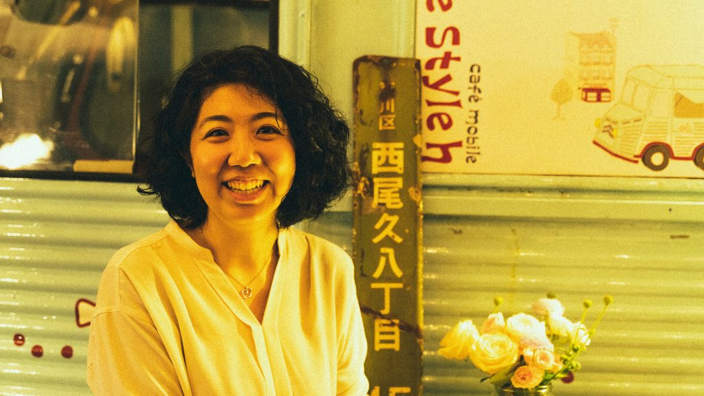 グルメライナーノーツVOL.8執筆の浅川芳恵(撮影:山本陸)