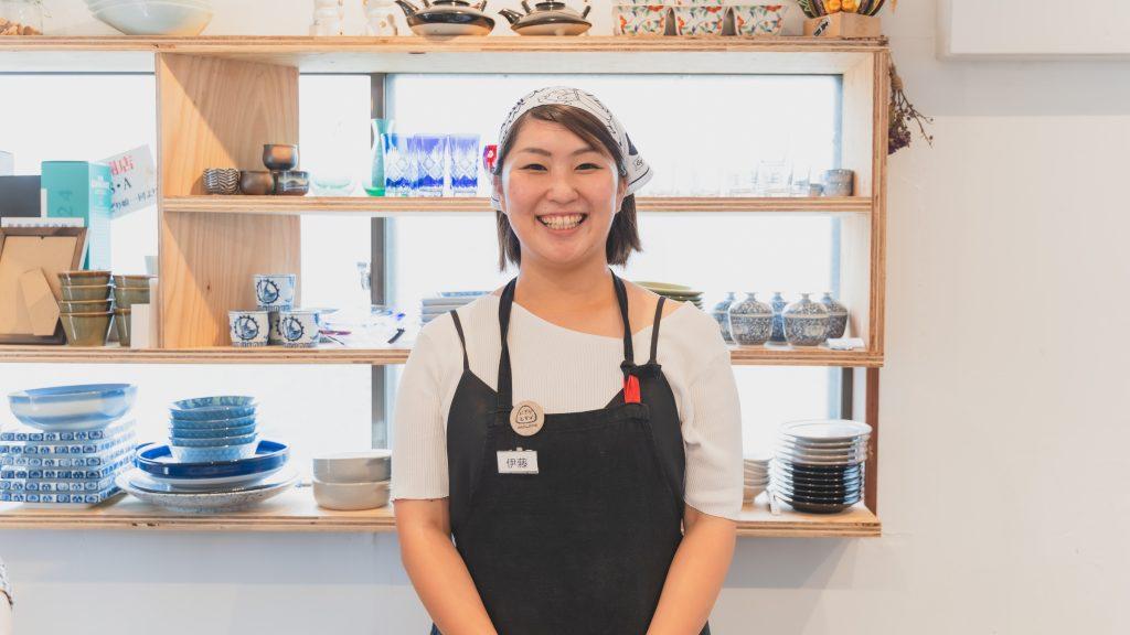 「にぎりむすび」店長の伊藤美香さん